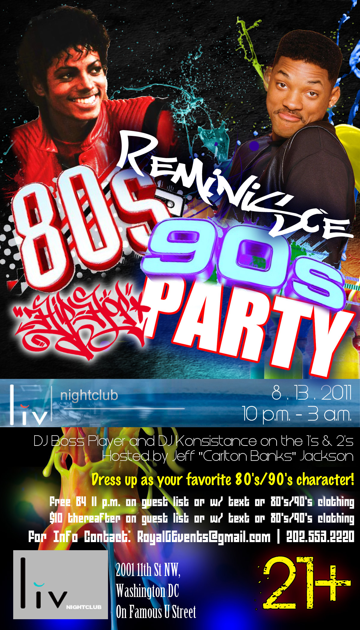 House party nyc s new 90s themed weekly hip hop event for House music 80 s and 90 s
